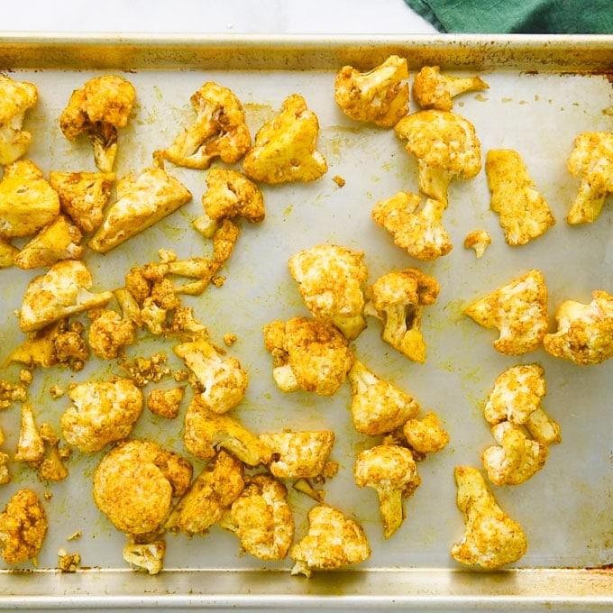 roasted florets