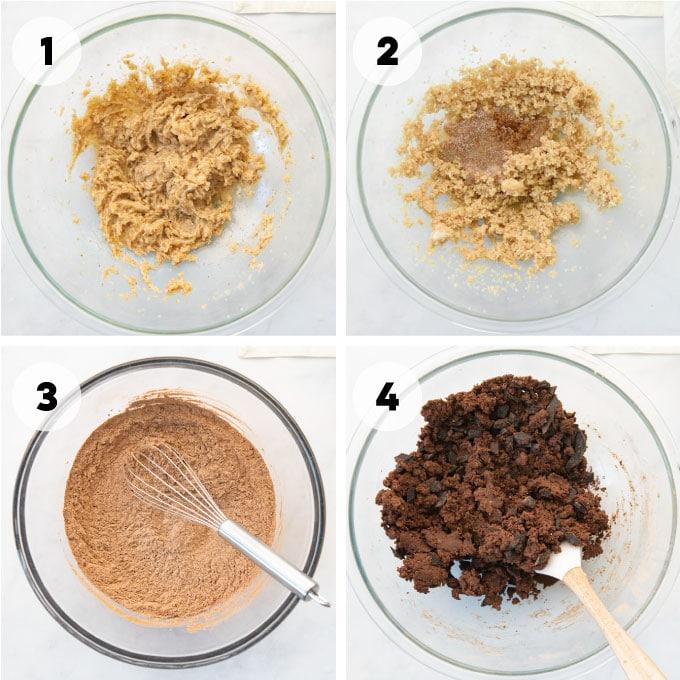steps to make the dough