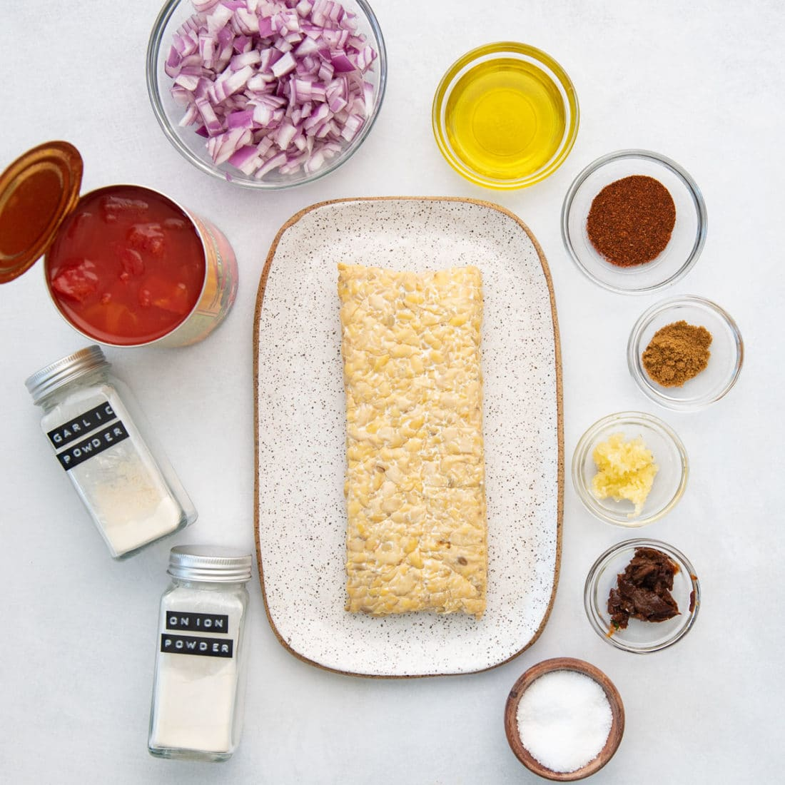 plant-based ingredients for vegan tacos