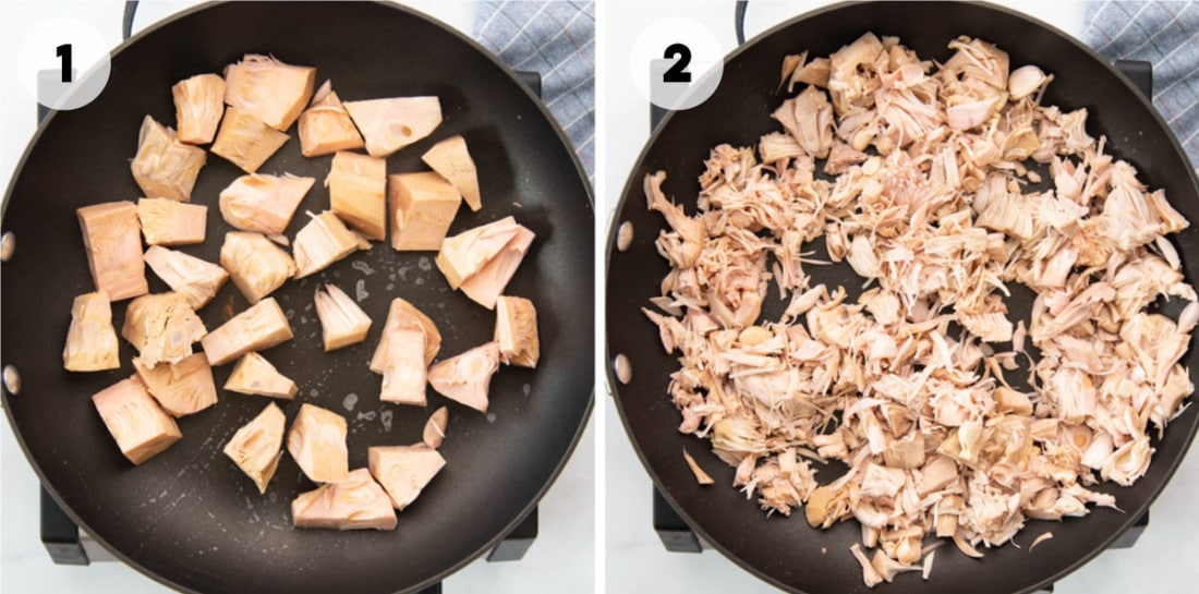 how to cook canned jackfruit